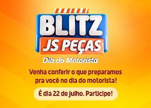 Convite especial pra você! Blitz JS Peças - Dia do Motorista