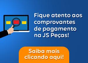 Fique atento aos métodos de pagamento da JS Peças!