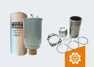 Produtos MWM: sinônimo de garantia de qualidade para o seu bruto.