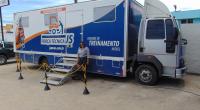 Caminhão do Força Técnica JS Peças