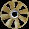 HELICE PLASTICA RADIADOR 8 PAS 17300 .1 1 BORGWARNER